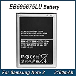 premium Samsung EB595675LU Battery For Galaxy Note 2 ll N7100 by apbrothers