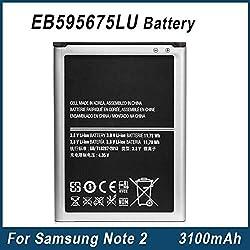 premium Samsung EB595675LU Battery For Galaxy Note 2 ll N7100 by apbrothers