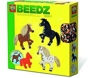 SES Creative Beedz-Cuentas para Planchar de Caballos con crines, Multicolor (6259)