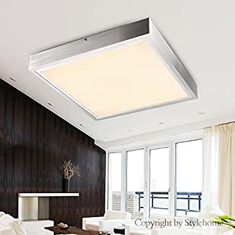 Stylehome® LED Deckenlampe Wandlampe 24W Warmweiss 5007-24W mit TÜV geprüft Trafo