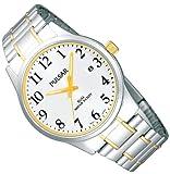 Pulsar Uhren Herren-Armbanduhr XL Klassik Analog Edelstahl PS9019X1