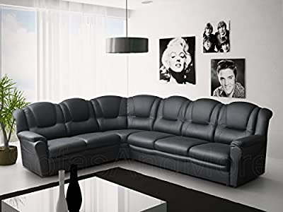 Texas Big Corner Sofa Suite - Faux Leather from ROBERTO