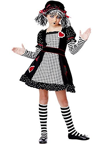Rag Kids Doll Kostüm - Child Rag Doll Costume Medium