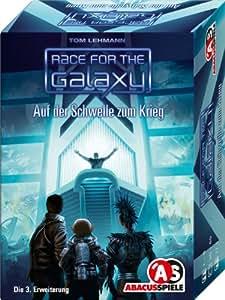 ABACUSSPIELE 13101 - Race for the Galaxy - Auf der Schwelle zum Krieg. 3. Erweiterung