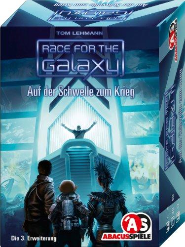 Preisvergleich Produktbild ABACUSSPIELE 13101 - Race for the Galaxy - Auf der Schwelle zum Krieg. 3. Erweiterung