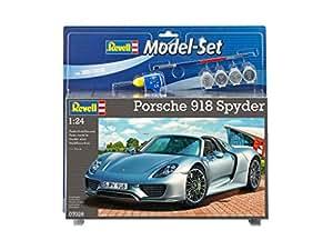 Revell Model Set - 67026 - Porsche 918 Spyder - 129 Pièces - Échelle 1/24