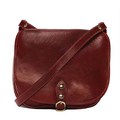 OH MY BAG SOLDES Sac bandoulière Cuir porté épaule bandoulière et de travers femmes en véritable cuir fabriqué en Italie - modèle VERLAINE SOLDES