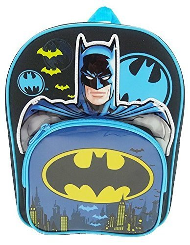 Batman Mochila infantil BATMAN001018 Negro 8.5 liters