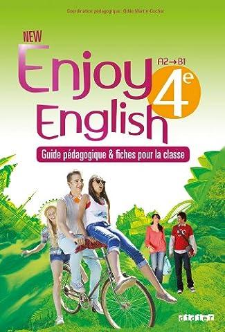 Enjoy English - New Enjoy English 4e - Guide pédagogique
