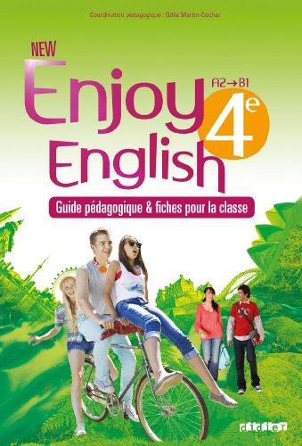 New Enjoy English 4e - Guide pdagogique + fiches