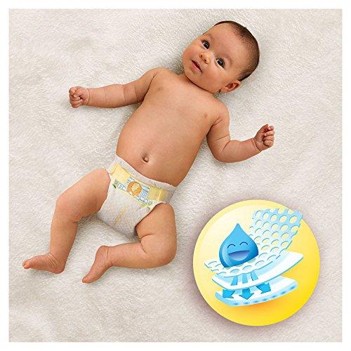 Pampers Windeln New Baby Gr. 1 Newborn 2-5 kg Tragepack, 4er Pack (4 x 23 Stück) - 2