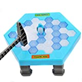 Shage Pinguin Eis Kinder Puzzle Spiel Pause Eisblock Hammer Falle Party Spielzeug