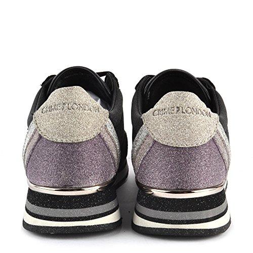 ... Crime London Scarpe Speed Sneaker Nero Donna Nero ... c240bb5fc27