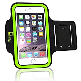 iPhone X/XS Running Armband. Arm Phone Holder Case for Runners, Sports, Gym Workouts & Outdoor Exercise