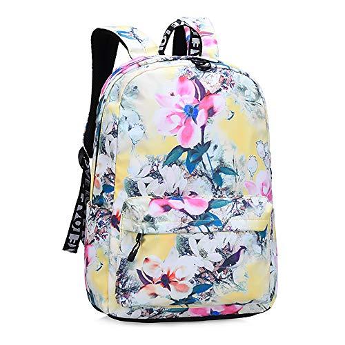 CYYAB Wanderrucksack für Kinder mit, Lässiger Kinderrucksack Wasserdicht/atmungsaktiv/verschleißfest/ausgleichsreduzierend für Verbundstoffe, Sport, Reise (28 * 11 * 39cm),Clear
