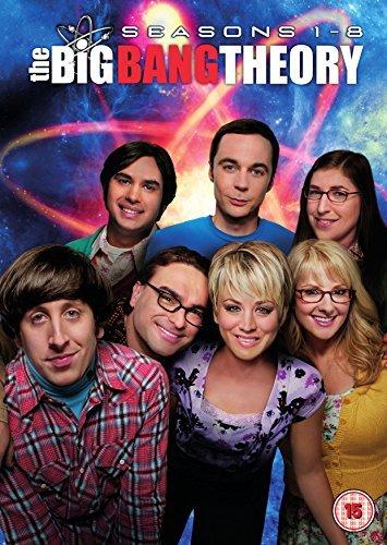 The Big Bang Theory (Seasons 1-8) - 25-DVD Box Set ( The Big Bang Theory - Seasons One thru Seven ) [ NON-USA FORMAT, PAL, Reg.2 Import - United Kingdom ] by Johnny Galecki