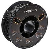 AmazonBasics - 3D-Drucker-Filament aus PLA-Kunststoff, 2,85 mm, Schwarz, 1-kg-Spule