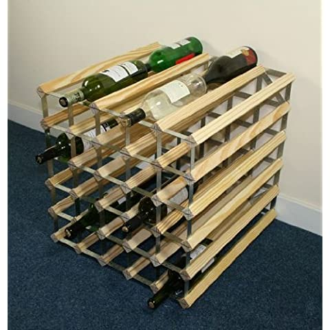 Doppia profondità 60 bottiglia di legno di