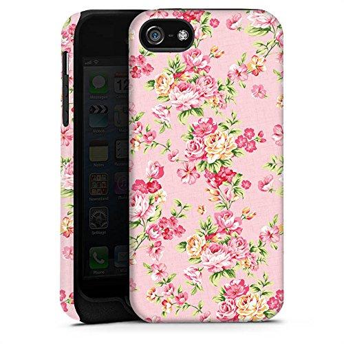 Apple iPhone X Silikon Hülle Case Schutzhülle Rosen Frühling Blumen Tough Case matt
