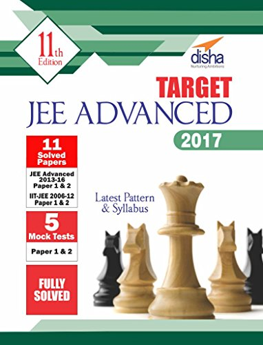 Target JEE Advanced 2017 (Solved Papers 2006-2016 + 5 Mock Tests Papers 1 & 2) For Rs. 286