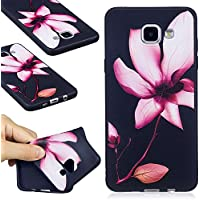 Guran® Étui Housse en Silicone TPU Gel Cover pour Samsung Galaxy A5 (2016) A510 Smartphone Coque de Protection - Magnolia