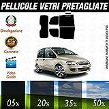 Fiat Multipla dal 1999 al 2006 Pellicole Oscuramento Vetri Auto Pre Tagliate a Misura - 20%