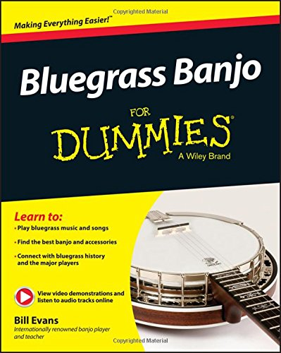 Bluegrass Banjo FD (For Dummies)
