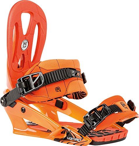Nitro Snowboards attacchi da uomo Wizard BDG 16, Uomo, Bindung Wizard BDG 16, arancione, M - All Mountain Snowboard Attacchi