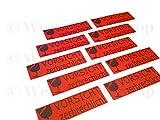 50 Stück Aufkleber Etikett Vorsicht Zerbrechlich Paket Karton Vorsicht Glas