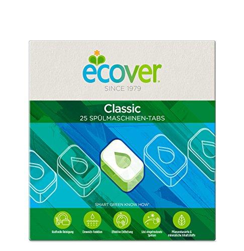 Ecover Pastillas ecológicas lavavajillas 1 x 25 Pastillas