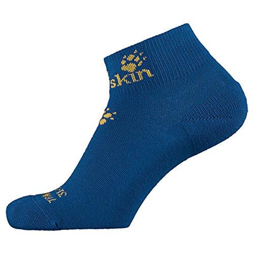 Jack Wolfskin Kinder Socken Casual Organic Mid Cut, Classic Blue, 31-33, 1904421-1127313