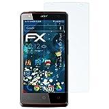 atFolix Panzerfolie für Acer Liquid E3 (Plus) Folie - 3 x FX-Shock-Clear stoßabsorbierende ultraklare Displayschutzfolie