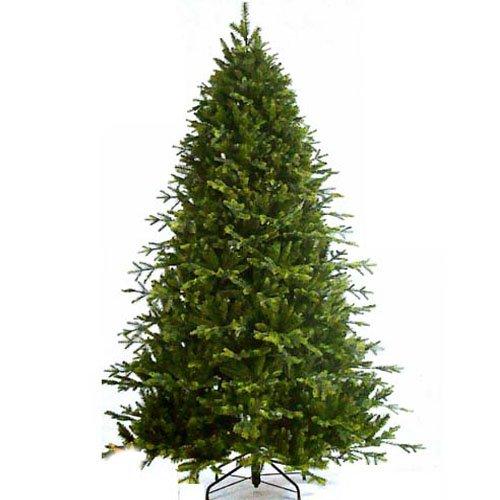 Sapin de Noël 150 artificielle vert Cascade Fir épais volumineux Pin réaliste