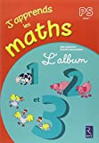 J'apprends les maths PS - L'album 1, 2 et 3