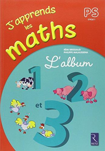 J'apprends les maths PS : L'album 1, 2 et 3