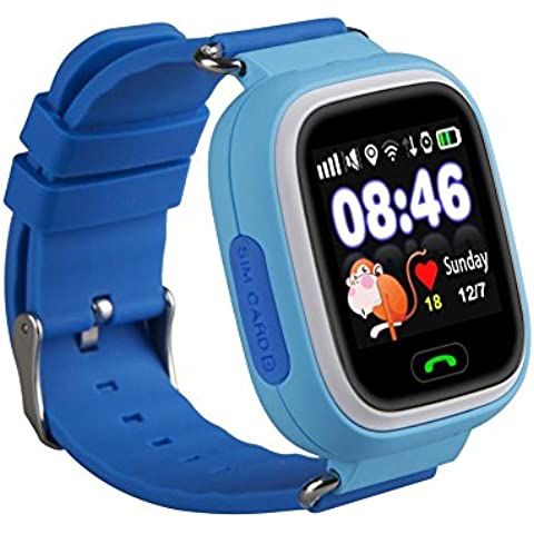 Witmoving Bambini Smart Watch Phone GPS SIM antifurto SOS Parent controllo da iPhone IOS Android Smartphone