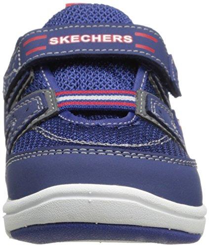 Skechers Cruzer, Baskets mode garçon Bleu (Nvrd)