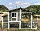 Zoopplier Hühnerstall Hühnerhaus Chickenhouse Nr. 10'Emshaus