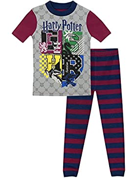 Harry Potter - Pijama para Niños - Harry Potter - Ajuste Ceñido