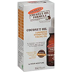 Palmers Coconut Oil Formula Coconut Oil Luminous Hydration Facial Oil, 1 fl oz