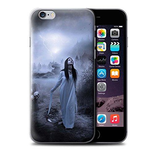 Officiel Elena Dudina Coque / Etui pour Apple iPhone 6S / Sorcière Chaudron Design / Magie Noire Collection Autel/Rituel/Décès