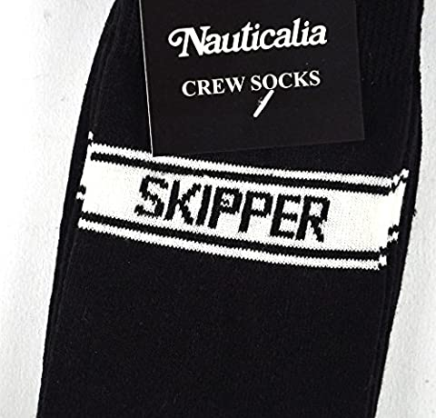 Nauticalia Skipper Socks Perfect gift for Sailors & Yahctmans!