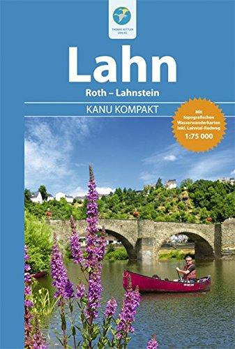 Preisvergleich Produktbild Kanu Kompakt Lahn von Roth bis Lahnstein mit topografischen Wasserwanderkarten