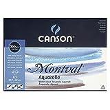 Canson 200807320 Montval Aquarellpapier, A3, naturweiß