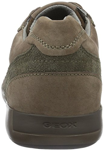Geox U Jepson E Herren Low-Top Braun (CIGARC6007)
