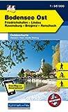 Deutschland Outdoorkarte 44 Bodensee Ost 1:35.000: Friedrichshafen, Lindau, Ravensburg, Bregenz, Rorschach. Wanderwege, Radwanderwege, Nordic Walking (Kümmerly+Frey Outdoorkarten Deutschland)