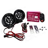 Best Bikes Speakers - EASY4BUY® Motorcycle Led Audio Radio Bike Sound System Review