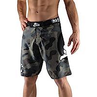 Bõa MMA ma-8r Camo Short de Combat Hombre, Hombre, Color Gris, tamaño Small
