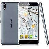 "Ulefone Paris - Smartphone libre 4G Lte (pantalla 5.0"", 16 GB, cámara 13 Mp, Android 5.1, 64-bit Octa Core, OTG), Gris oscuro"
