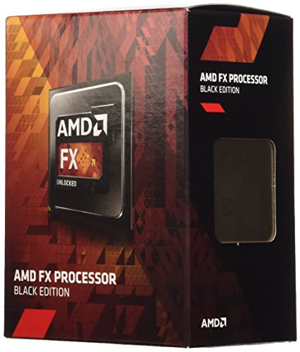 AMD FX-4300 Box Processore AM3+, Edizione Nera